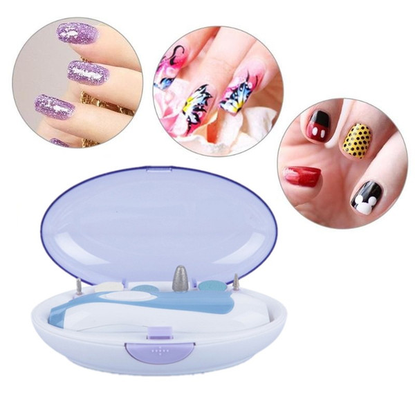 Portable Electric Nails Drill Trimming Nail Art Drill Manicure Pedicure Device Kit Nail Tips File Drill Tool Beauty Accessories