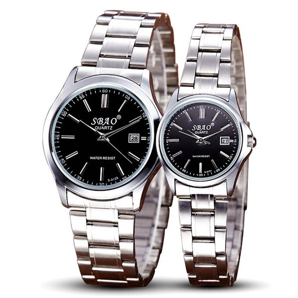 Sports Series Of High-end Leisure Couples Watches Simple Models Women Watch Single Quartz Stainless Steel Wrist Watches