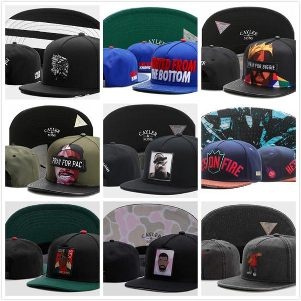 beste Qualität Biggie Cayler Sons Hysterese Hüte balck Herbst Winter Hip Hop Baumwolle verstellbare baseballl Kappen für Männer Frauen mischen Bestellung