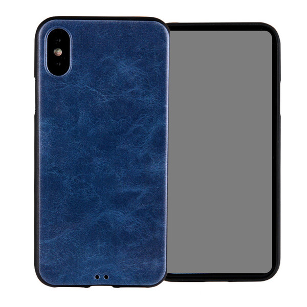 For Newest iPhone XS XS Plus 6.1 5.8 inch Back Cover Case Soft Carbon Fiber Cover Cases for iPhone 7/8 Plus iPhone X with OPP Bag