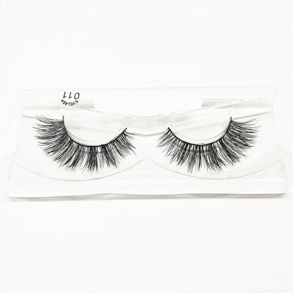 seashine Hand made type and 100% real mink fur 3D mink eyelashes false lashes free shipping