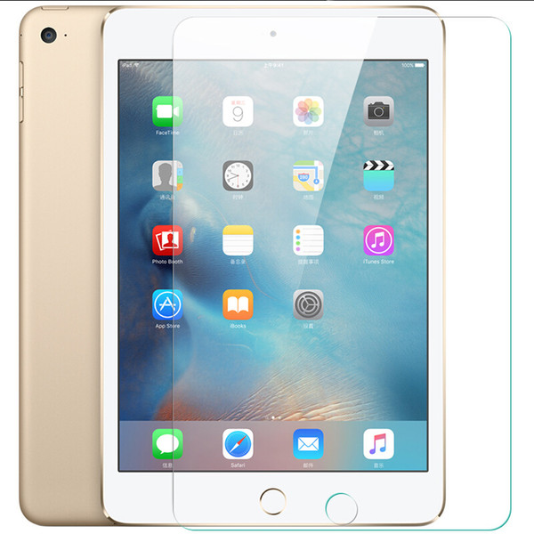 Anti-explosion Tempered Glass For ipad Pro 10.5 mini 1 2 3 4 Shockproof Anti-scratch Guard Film For ipad 2 3 4