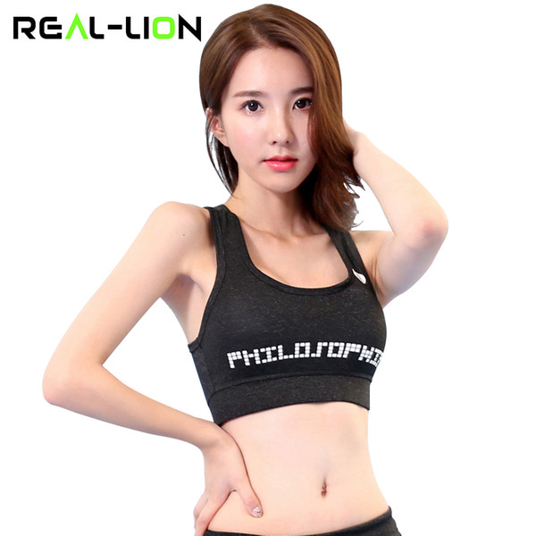100% top quality quality reasonable price 2019 RealLion Sport Bra Tops Plus Size Running Vest Female Gym Clothing For  Women Underwear Fitness Sports Wear Quick Dry From Alexandr, $25.93 | ...