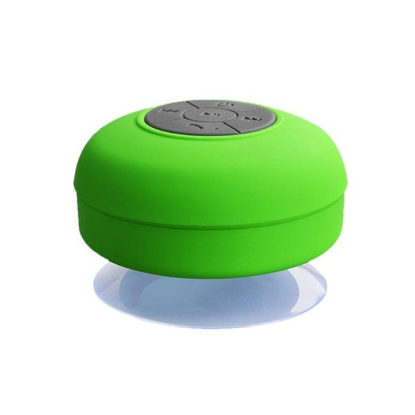 outdoor portable waterproof suction cup bathroom wireless Bluetooth mini speaker hands-free stereo calling subwoofer 3D surround gifts