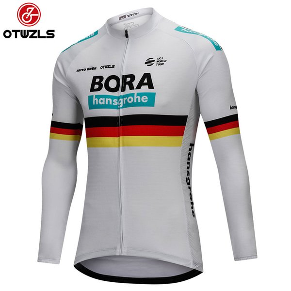 2018 Men Long Sleeve Cycling Jerseys Pro Team Road Bike Bicycle MTB Top  Jersey Spring Autumn 1ce96ce40