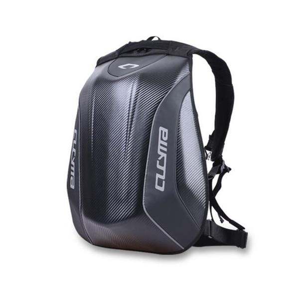 Motorcycle Riding Backpack For Yamaha Racing Team Waterproof Carbon Fiber Hard Shell Motorcycle Bag Motocross Luggage Backpack