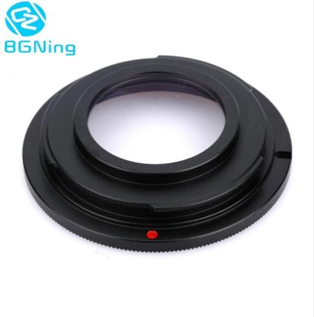 Q24253 BGNING Camera Lens Adapter Ring with Focus Glass M42-NIK for M42 Lens Mount to for Nikon DSLR Camera D60 D80 D90 D700 D5000
