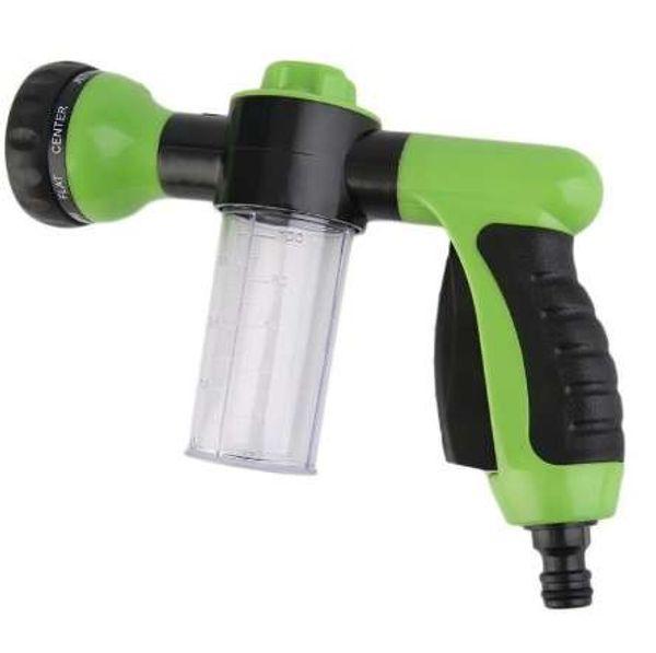 Multifunción Auto Car Foam Water Gun Alta presión Car Washer 3 grado ajustable Spray Tool Boquilla portátil de espuma