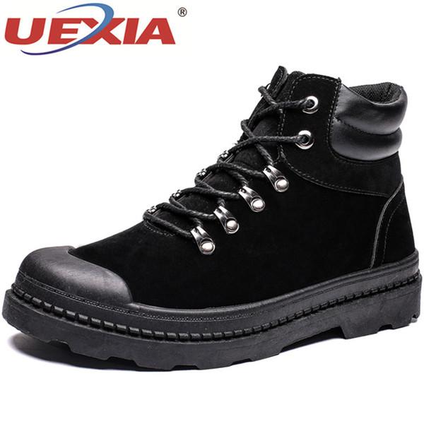 Compre UEXIA Zapatos Hombre Botines Otoño Invierno Moda