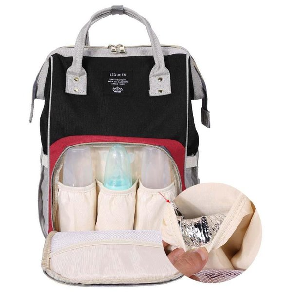 2018 New Diaper Baby Bag Capacity Mummy Maternity Bag Multifunctional Nursing Women Travel Backpack Baby Care mom Convenient