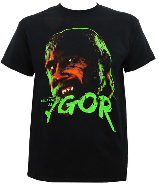 Camiseta auténtica de los monstruos universales S- 3XL nueva marca de ropa para hombre de Hip Hop
