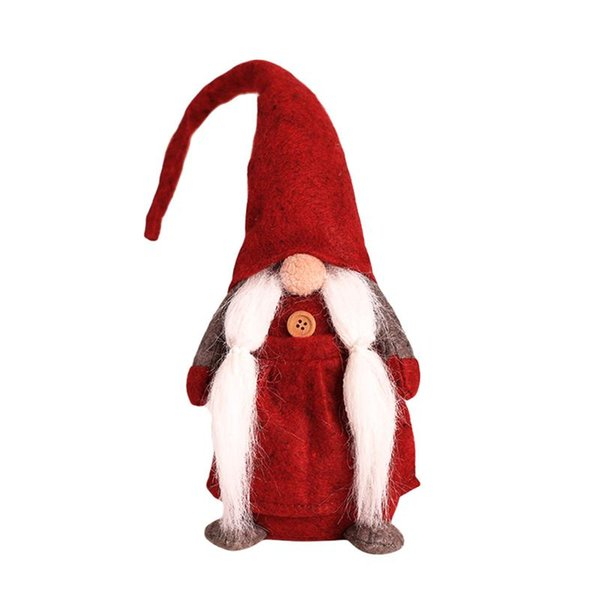 Christmas Gnome.2019 Christmas Gnome Swedish Scandinavian Santa Tomte Nisse Home Table Decoration Plush Doll Holiday Gift Red From Tengdinggarden 16 03 Dhgate Com