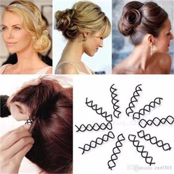 Hair Styling Tools Braiders Spiral Spin Screw Pin Hair Clips Twist Barrette Hairpins Hairdressing Accessories Hair Clip