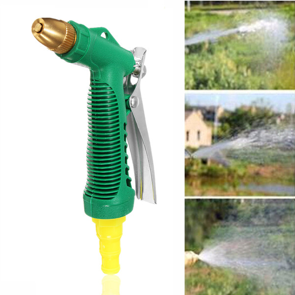 Cuivre réglable haute pression voiture eau de lavage pour la tête jardin ménage lavage nettoyage machine outil accessoires