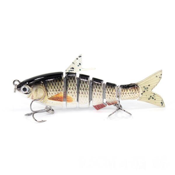 6 Segment Multi Fishing Lures Hard Bait Jointed Fishing Lures Artificial Hard Crank Bait Swimbait 9.5cm 17g Crankbait