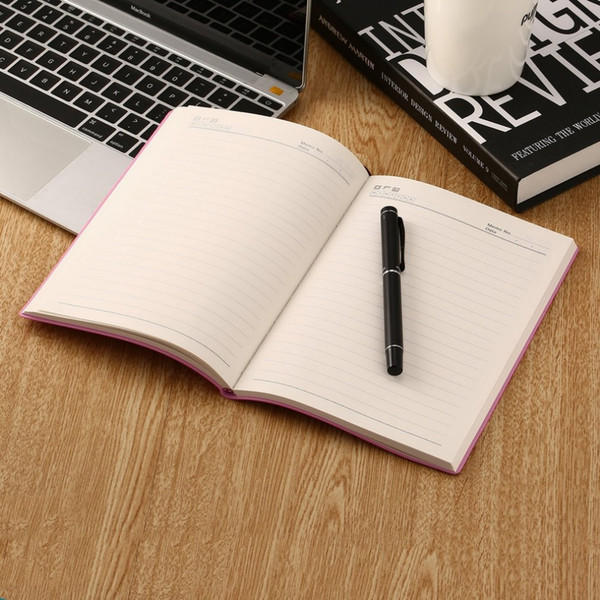 Soft PU Leather NotWriting Journal A5 Portable NotHome Daily Office Business Travel Notepad