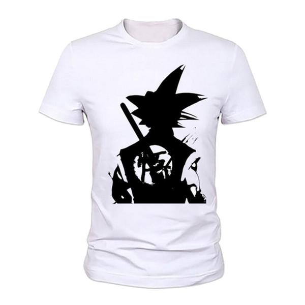 Classic Dragon Ball Z Goku 3d Print Casual T-shirt 2017 Men Women Xs - Xxl Dragon Ball Z Goku T-shirt Short Sleeve O - Neck Tshirt