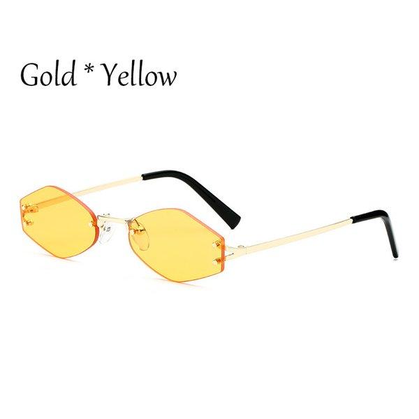 C5 Желтый объектив