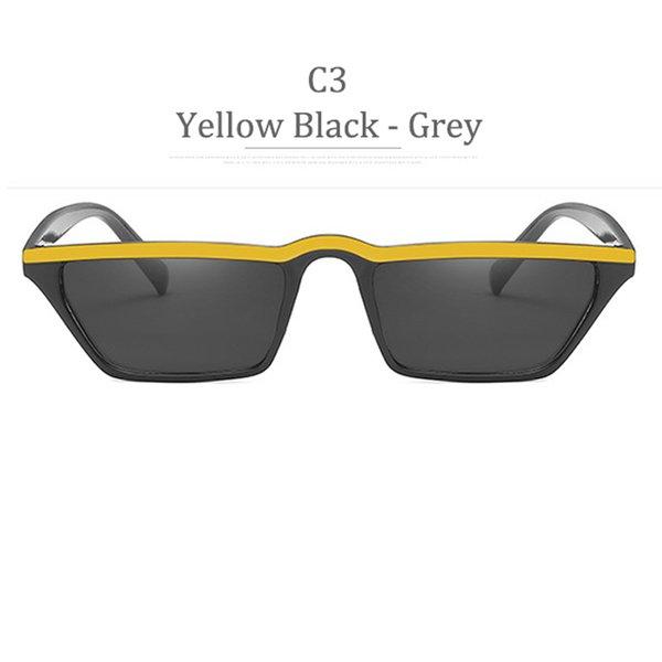 C3 Yellow Black Grey Lens