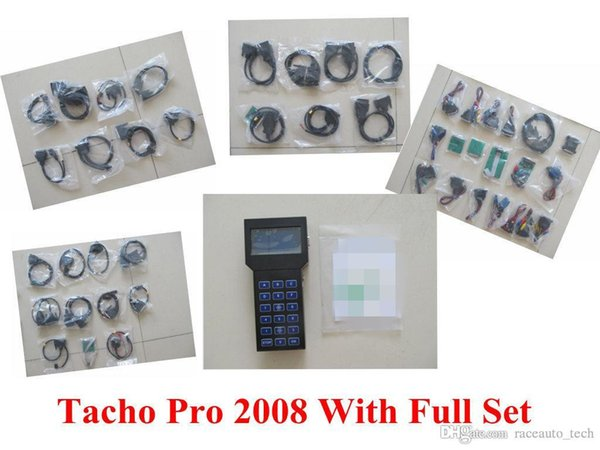 newest Odometer Correction Universal Programmer Super TACHO PRO 2008 Tacho 2008 Mileage Correction Tool High Quality Unlock Version