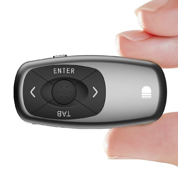 Wireless Powerpoint Presenter Remote Control 100m 2.4GHz Rechargeable PPT Presentation Multi-media Pointer Presenter for Android