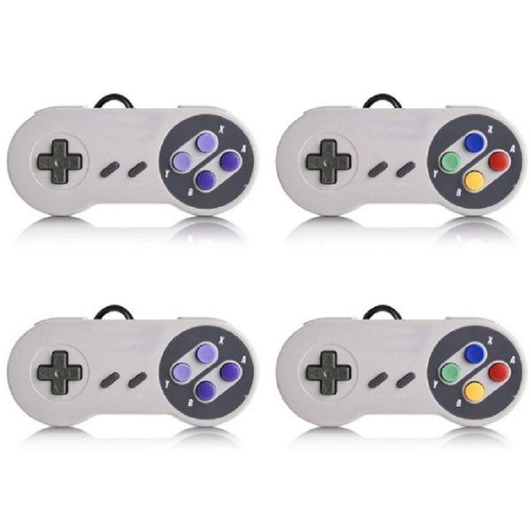 SNES USB Game Gaming Pad Контроллер Для Super Nintendo Дешевые Проводные Джойстики Контроллеры Для ПК XP Windows 7 8 10 VISTA MAC