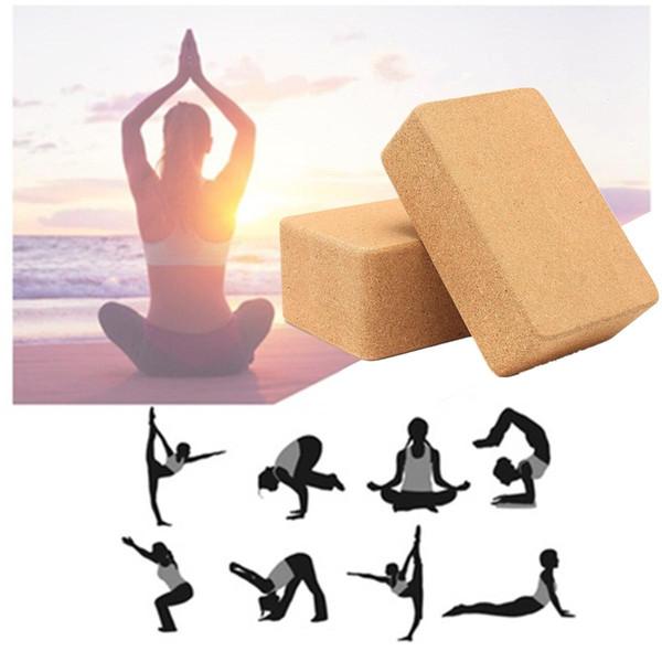 Il produttore di eco-sughero di yoga del blocco di yoga del blocchetto del marchio dell'etichetta privata può progettare la vendita superiore 2018 su ordinazione su ordinazione