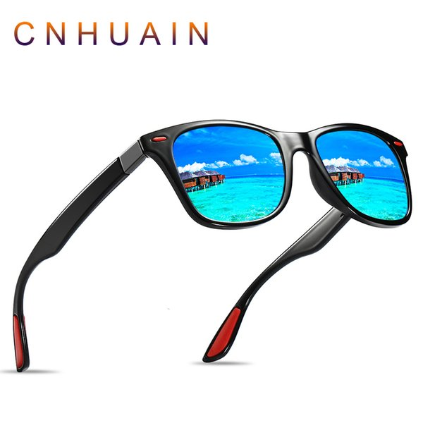 Designer Brand popular Polarized Sunglasses Men Women Driving Travel Retro Rivet Men's Sunglasses 100% UV Protection