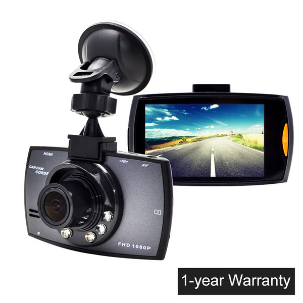 2.7 polegada LCD Carro Câmera G30 Carro DVR Traço Cam Full HD 1080 P Vídeo Camcorder com Gravação de Loop de Visão Noturna G-sensor