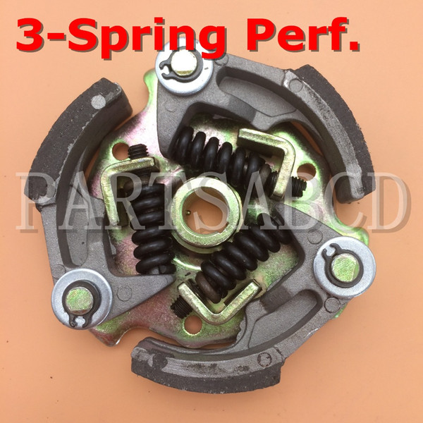 top popular PARTSABCD Performance clutch for 47cc 49cc 2 stroke engine with 3 spring 2019