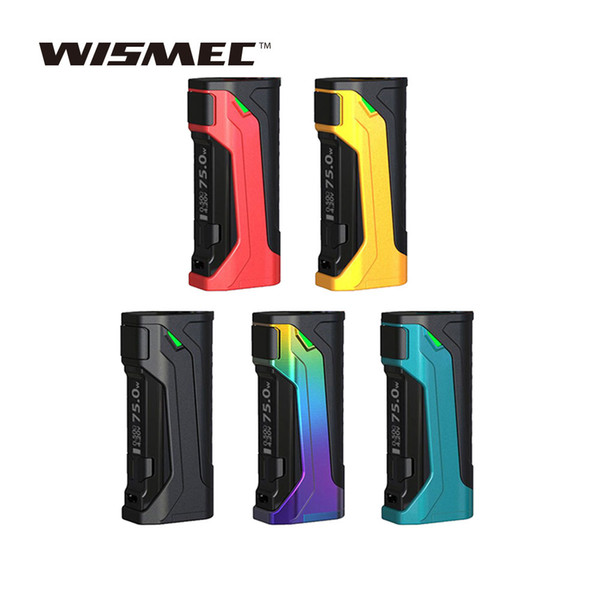 WISMEC CB-80 TC Box MOD Powered by Single 18650 cell Tri-button design for easy operation E-cig MOD No Batterry