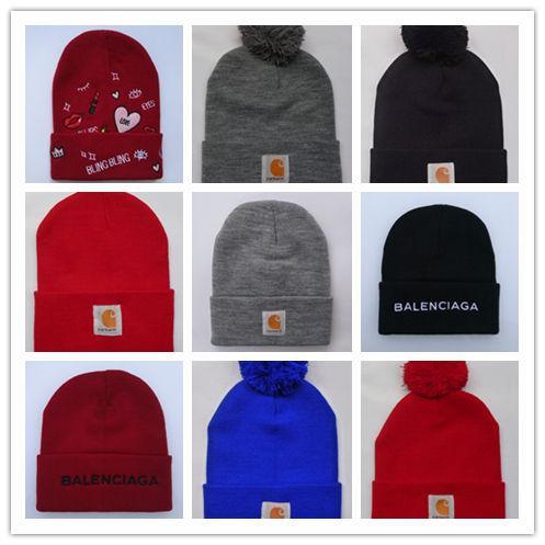 New Design Gosha Rubchinskiy Knitted Hats Men Winter NOAH Hat Beanies Bonnet 2017FW Vetements Toca Knit Skullies Streetwear Warm Snow Caps