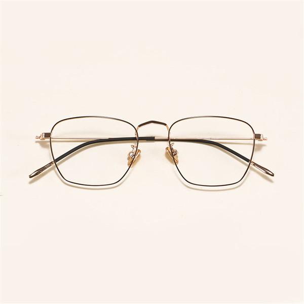 2018 Fashion  Eyeglasses Frame Men Women Vintage Optical Spectacle Glasses Frame Clear Lens Goggle Eyewear NX
