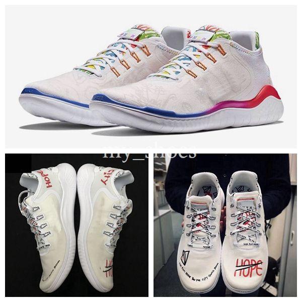 559a36c895897 New Flabjacks X Novo Free Run 2018 RN T-SHIRT Ton Mak AH3966-106 Designer  white City Graffiti Running Shoes Sport Mens Womens Sneakers 36-44