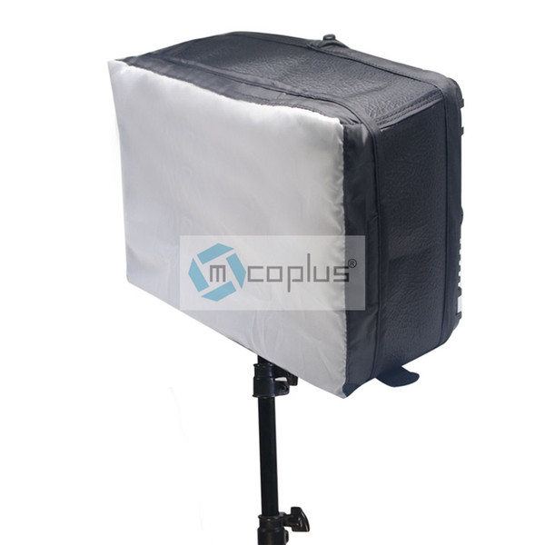 Mcoplus Video Light Softbox White Diffuser Kit Size 26 x 19 x 12cm for Proffessional Photography Camera Video LED Light YN-600
