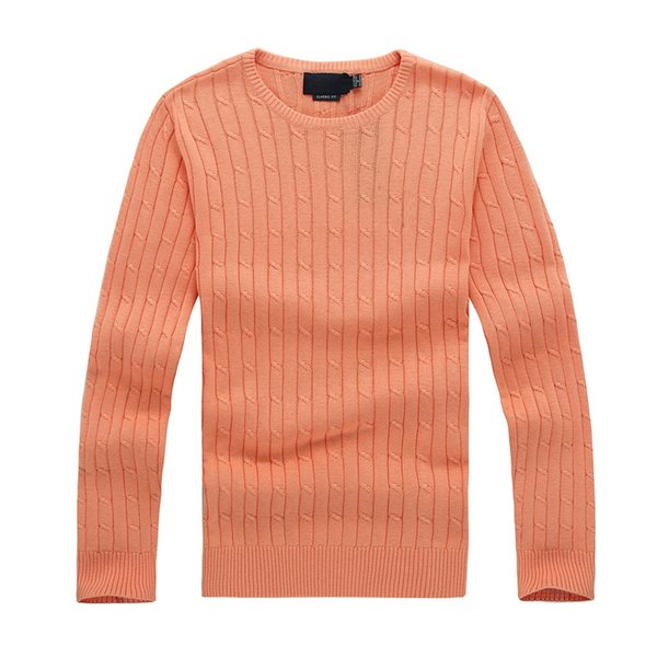 2018 high quality mile wile men's twist sweater knit cotton sweater jumper pullover sweater Free Shipping