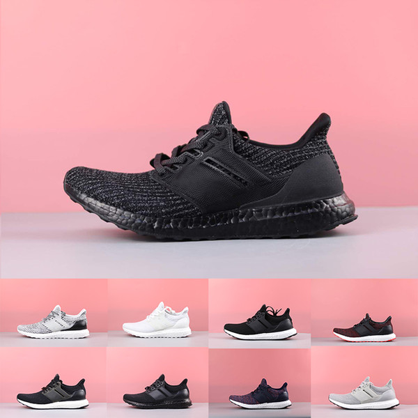 Ultraboost Clima 3 0 4 0 Casual Shoes Core Triple Black White Ultra Boosts Runner Men Women Leisure Trainers Sport Sneakers Size 5 11 Mens Shoes