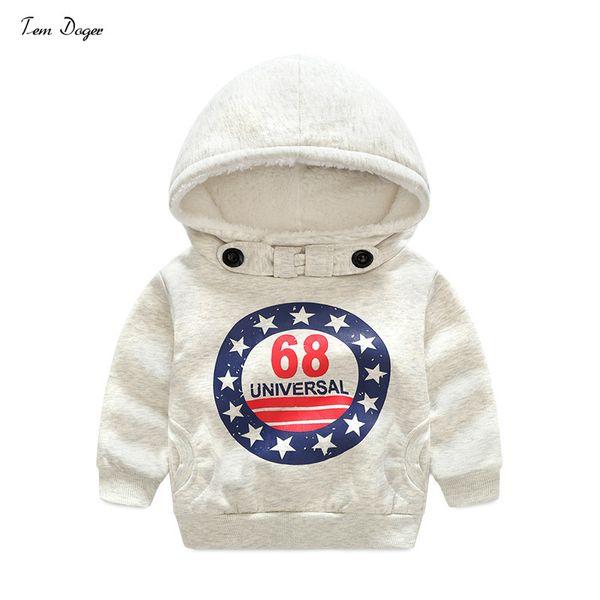 Tem Doger Kids Boys Winter Outerwear Fashion Coat Kids Jackets Warm Hooded Children Boy Clothing Y1892907