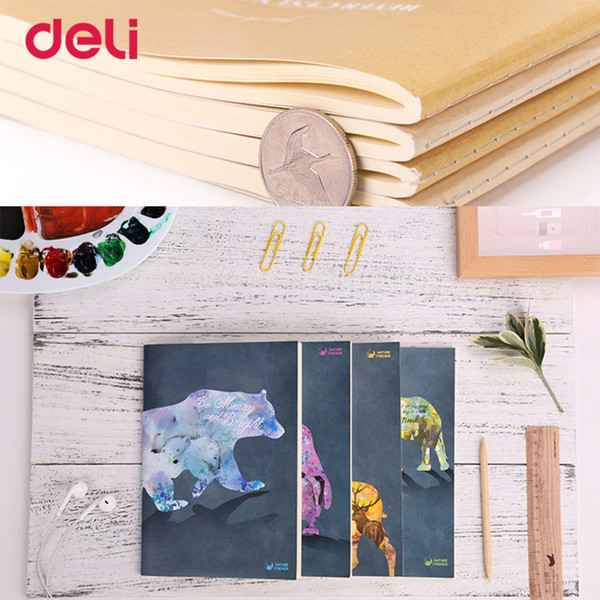 2018 fashion A5 cute animal fruit pattern notebooks for school diary stationery office supplies kawaii paper book WJ-BJB-57-