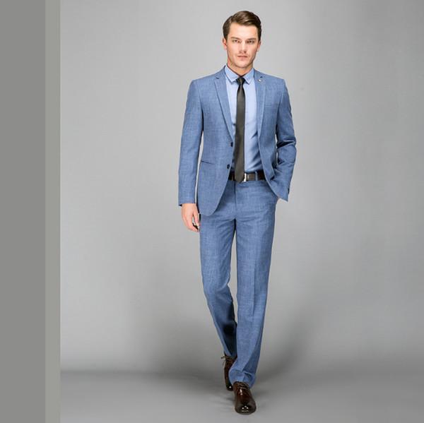 Compre Ternos De Casamento Dos Homens Smoking Set Slim Fit Homem Ternos Marca Blazer Masculino Vestido Terno Para Homens Ucrânia Noivo Vestido De