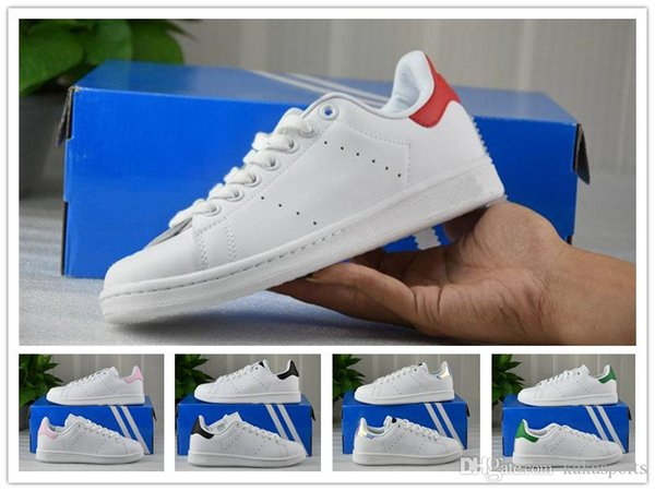 online store ee389 ff71f 2018 New Arrival Stan Smith X Pharrell Williams Shoes Fashion Sneakers  Casual Leather Men Sport Running Shoes Jogging Sneakers Sports Shoes For  Women ...