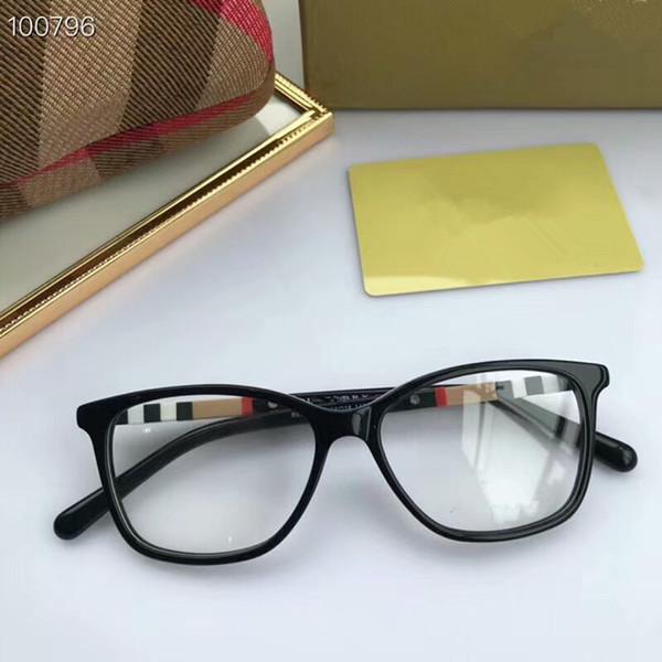 5580c8827d6d AAA+ BE2276 fashional contrasted frame stripe temple designer prescription  glasses53-18-145 pure-plank frame fullset case OEM factory outlet