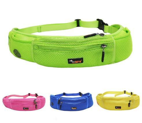 Free Shipping PET Dog Portable Pocket Waist Bag Holder Treat Training Pouch with Poop Bags Running Walking Hiking Belt Fanny Pack