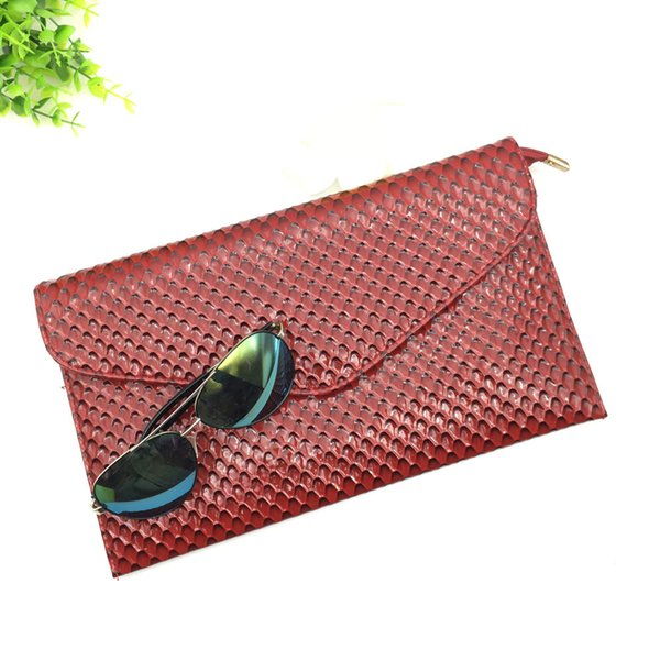 Fashion Women Design Brand Nail Grain Crossbody Bag Clutch Handbag Ladies Shoulder Bag Clutch Bag bolsa Evening Bags For Party
