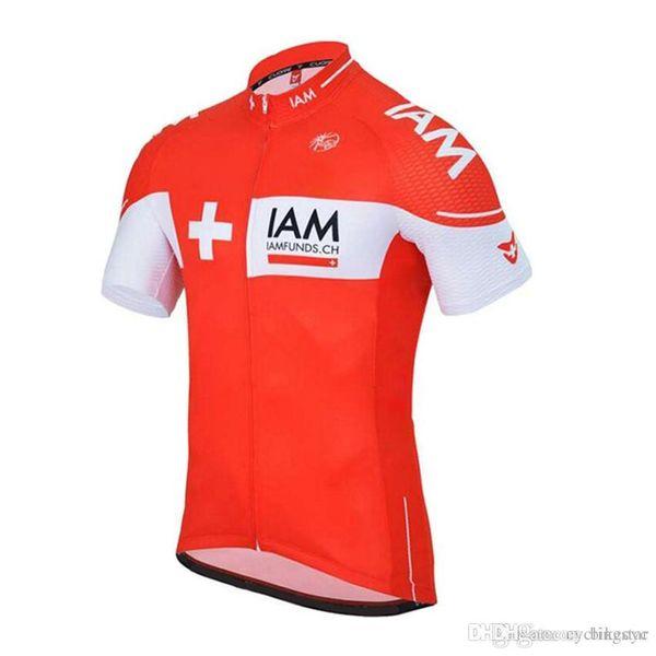 Nouveau! IAM équipe cyclisme maillot ropa ciclismo hombre vêtements de vélo à séchage rapide manches courtes vélo chemise vtt maillot montagne Racing Espagne B285