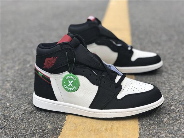 info for 568ac 51fef 2018 Newest Releases 1 High OG Sports Illustrated 1S A Star Is Born AJ1 Top  Basketball Shoes For Man Sports Sneakers With Original Box 555088 015 From  ...