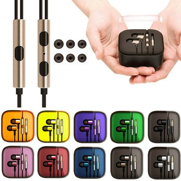 Xiaomi Piston Earphone 3.5Mm Jack Auriculares Auriculares In-Ear Auriculares de galvanoplastia Auriculares estéreo para samsung iphone android phone