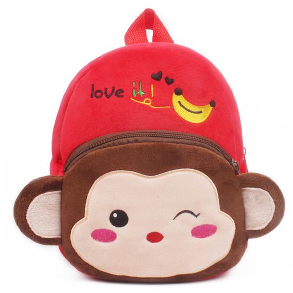 New Cute Cartoon Kids Plush Backpack Toy Mini School Bag Kindergarten Boy Girl Baby Christmas Gifts Student Bags Lovely Mochila