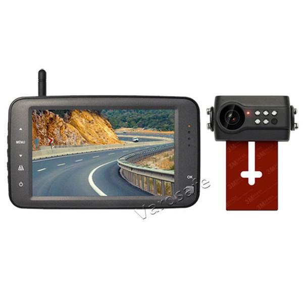 Vardsafe VS764   Digital Wireless License Plate Backup Camera Kit for Car RV Truck