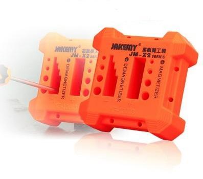 Herramienta desmagnetizadora Magnetizador Destornillador naranja Herramienta magnética Pick Up Destornillador Desmagnetización magnética + NB